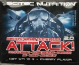 Scitec Nutrition / Attack 2.0 (10 г) Вкус - вишня