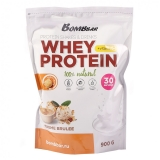 Bombbar / Whey Protein 100% Natural + Vitamin C (900 г) Вкус - Крем/брюле