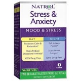 Natrol / Stress and anxiety day and night (30+30 таб)