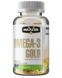 Maxler / Omega-3 Gold USA (120 гел. капс)