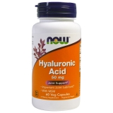 Now / Hyaluronic Acid 100 mg (60 капс)